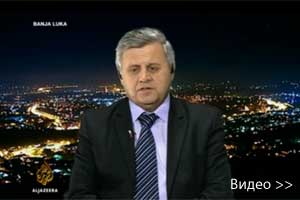 Dušan Vrhovac - Intervju na Al Jazeera TV