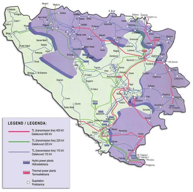 Мапа СУРЕРС